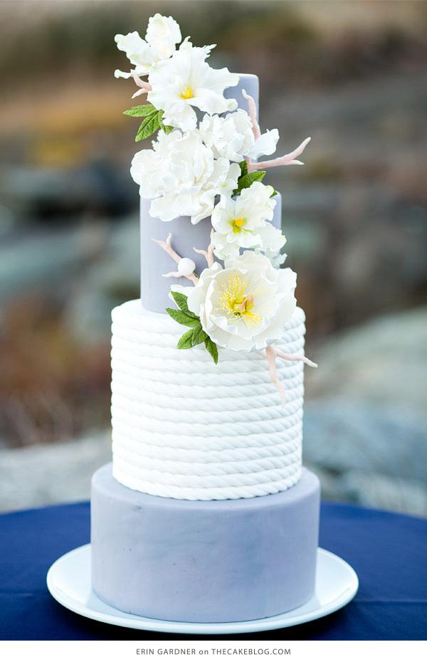 Pantone 2016 inspo wedding cake